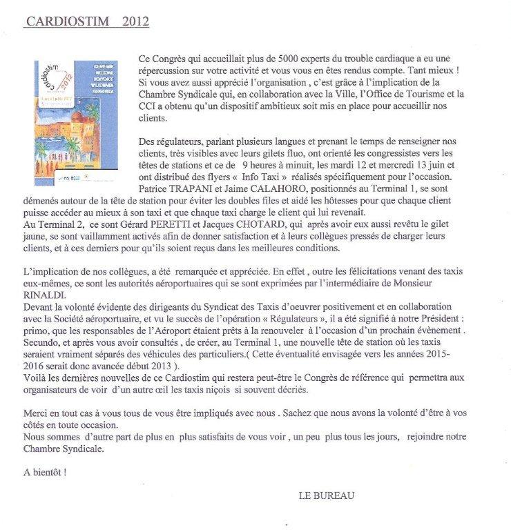 Cardiostim 2012 - Compte rendu LE-CARDIOSTIM-2012-001