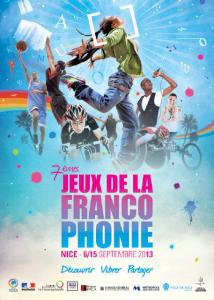 Cérémonie d'ouverture des 7ème jeux de la francophonie jeux-de-la-francophonie-2013-affiche-214x300